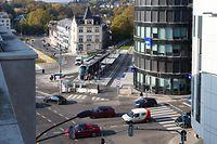 Die Büroräume der Firma LetterOne befinden sich an der Place de l'Etoile in Luxemburg-Stadt.