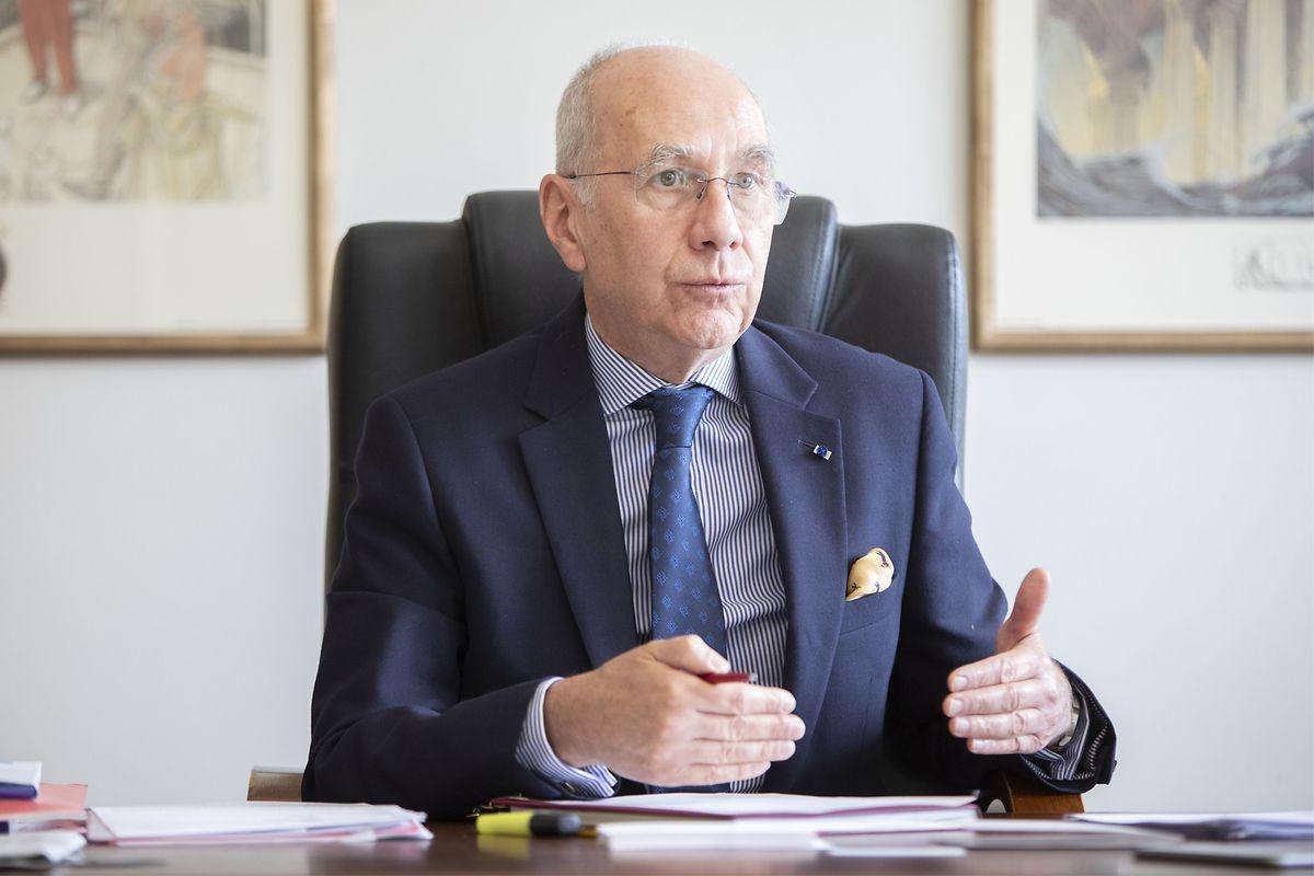 «Je déploie beaucoup d'énergie pour essayer de soutenir les positions luxembourgeoises».