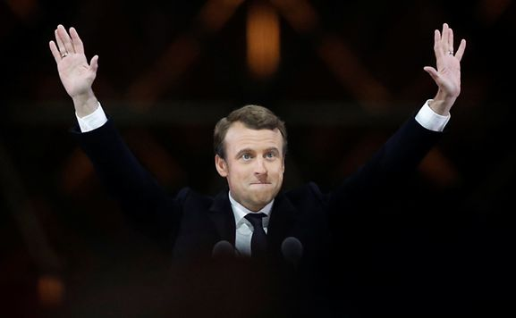 Wahlen - Alles ausgezählt: Macron gewinnt Präsidentenwahl mit 66,1 Prozent
