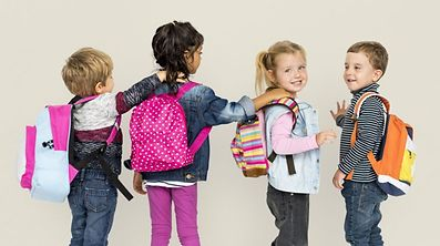 Claude Meisch said studies show children can only suffer from muscular problems if they carry bags weighing at least 20 per cent of their body weight