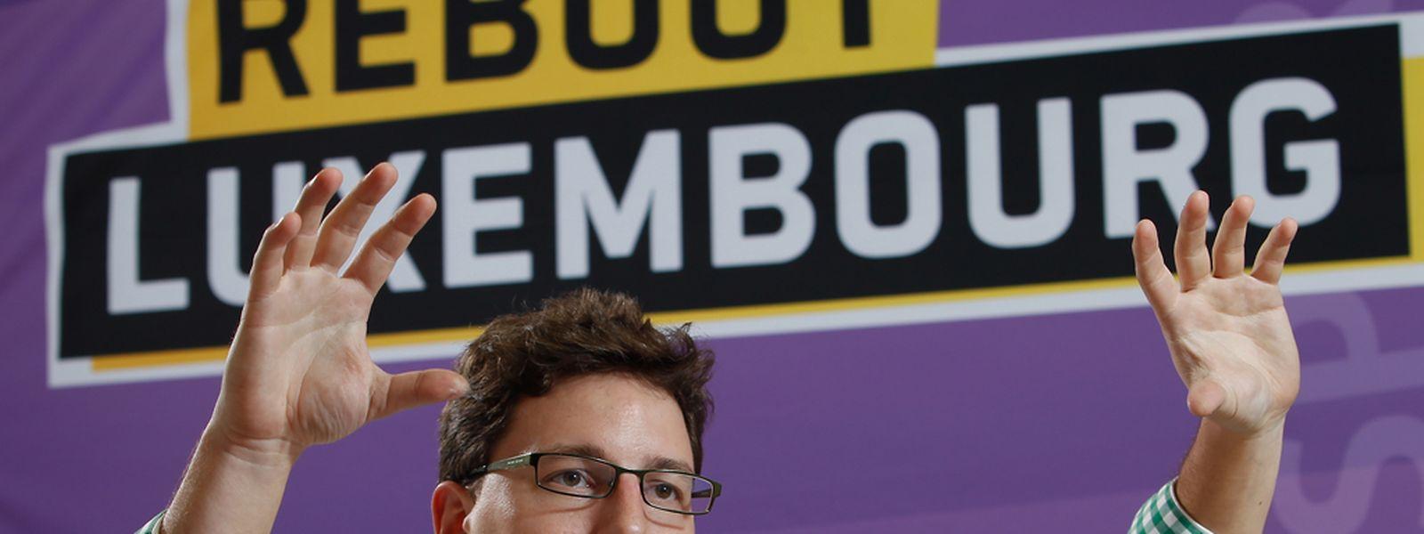 Sven Clement wurde als Vorsitzender der Piratenpartei Luxemburg am Sonntag bestätigt.