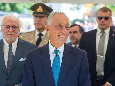 Marcelo Rebelo de Sousa, un président populaire, qui déplore que trop d'élus perdent le contact avec leurs concitoyens.
