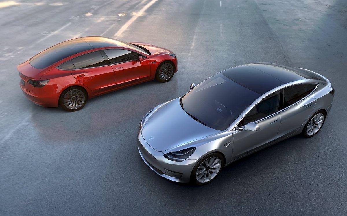 Das Modell 3 hat eine Reichweite von 345 Kilometern.