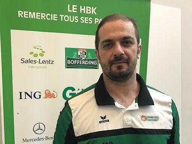 Dimitris Dimitroulias war 2012 Trainer des Jahres in Griechenland.