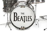 """Mit dem Schlagzeug nahm Starr u. a. den Welthit """"She loves you"""" auf."""