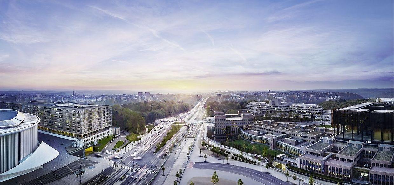 Un projet d'une surface totale de 33.300 m2, 1.950 m2 de surfaces publiques, 6.800 m2 de bureaux, 6.500 m2 de centre commercial, 20.000 m2 pour la tour résidentielle.