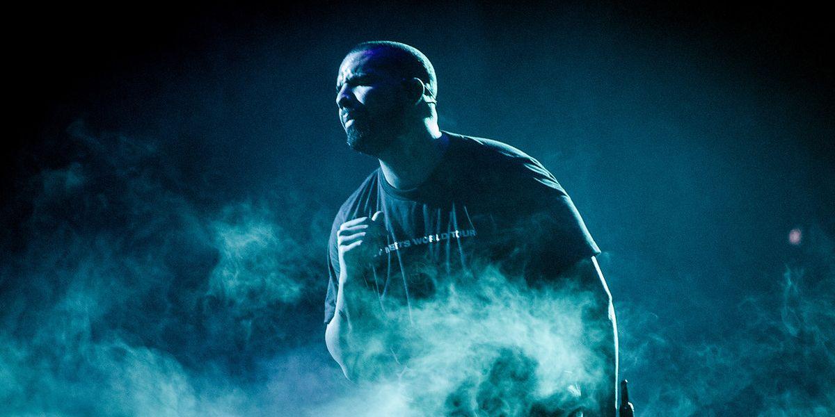 O músico Drake.
