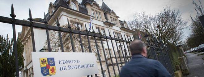 La banque privée Edmond de Rothschild au Limpertsberg.