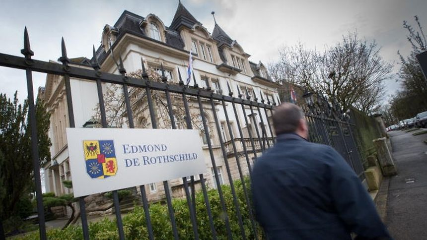 The premises of the private bank Edmond de Rothschild in Limpertsberg were searched on 29 June.
