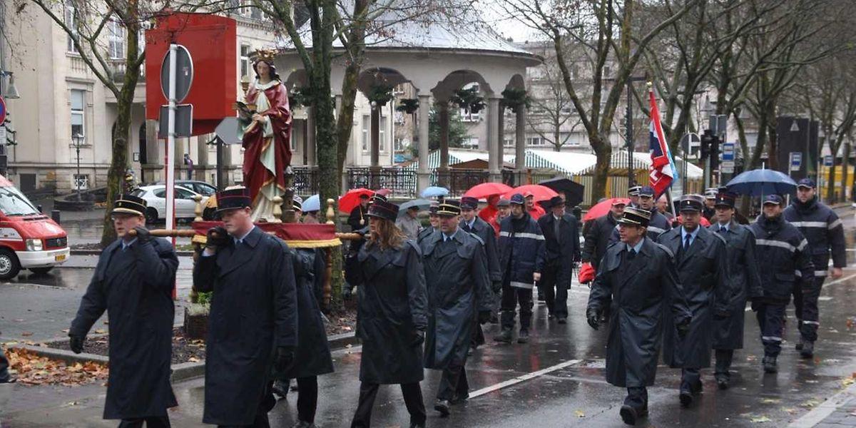 """In den meisten Südgemeinden der Minetteregion wird die Tradition des """"Boarbelendag"""" aufrecht erhalten. So wie hier in Düdelingen."""