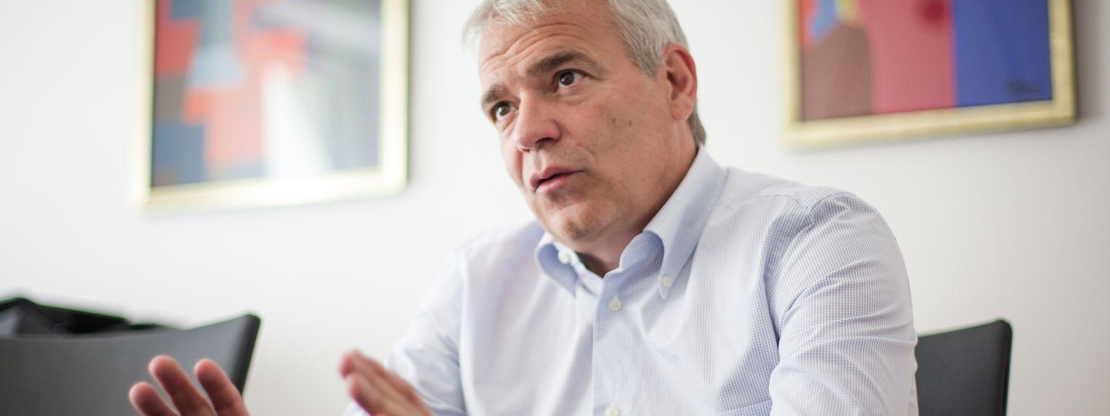 """""""Das Gerüst steht"""", lautet die Zwischenbilanz von Innenminister Dan Kersch."""