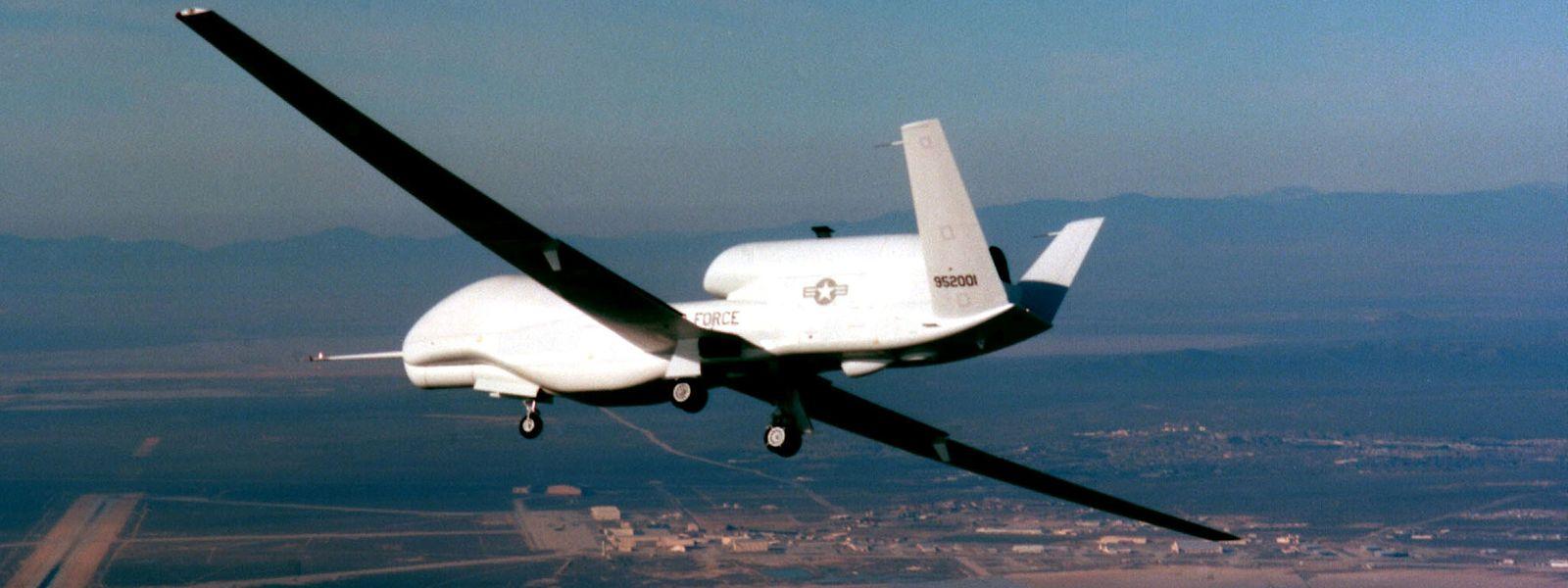 Eine US-amerikanische Global-Hawk-Drohne.