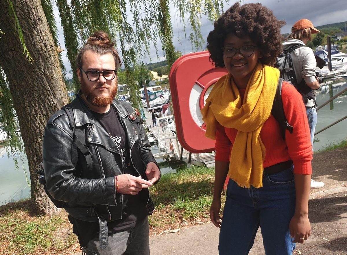 Gemeinsam in Europa unterwegs: Rares aus Rumänien (l.) und Vanessa aus Südafrika.