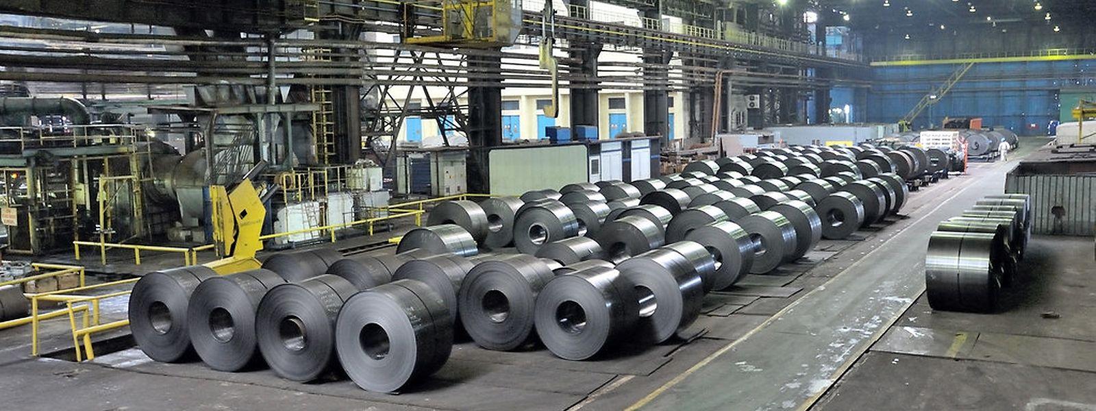 """Das Werk Galati von Liberty Steel in Rumänien: Von hier aus soll die Einheit """"Liège-Dudelange"""" beliefert werden."""