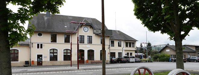 Bahnhof Wasserbillig: Hier endet, respektiv startet die Zugfahrt für die Reisenden zwischen Luxemburg und Trier.