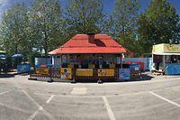 Lokales, Glacis, Stand Gaston la Gauffre, Texas Grill, Gaston becker, Schueberfouer,Foto: Guy Wolff/Luxemburger Wort