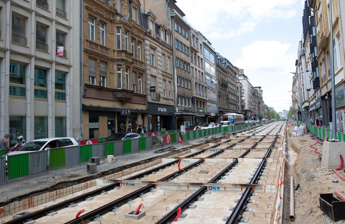 Das Ankommen der Tram bietet für Déi Gréng die Gelegenheit, die positive Dynamik zur Belebung des Viertels zu nutzen.