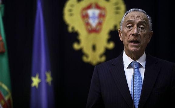 O Presidente da República Portuguesa, Marcelo Rebelo de Sousa.