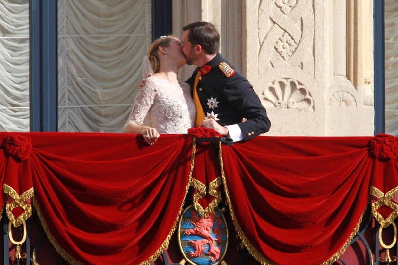 Der Kuss auf dem Balkon des großherzoglichen Palastes berührte die Herzen der Luxemburger.