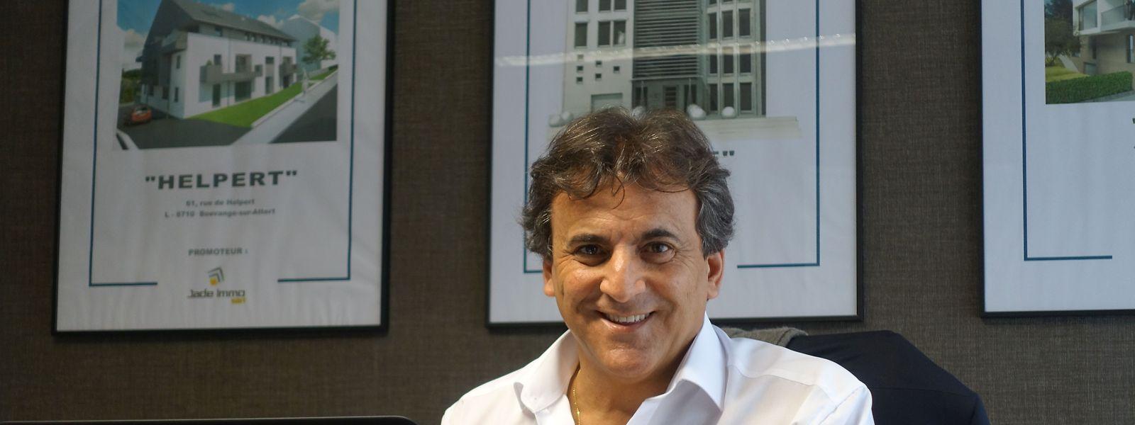 Victor Sousa, sócio-gerente da Immo Pro Concept.