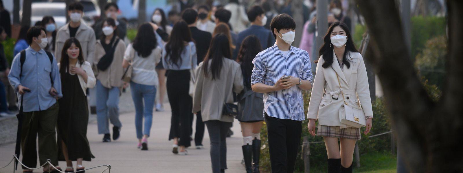 35 nouveaux cas ont été recensés lundi en Corée du Sud, où l'épidémie avait pourtant été jugulée