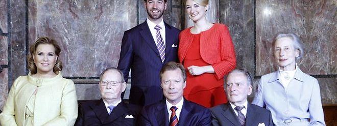 Die großherzogliche Familie trauert um die Gräfin Alix de Lannoy (rechts).