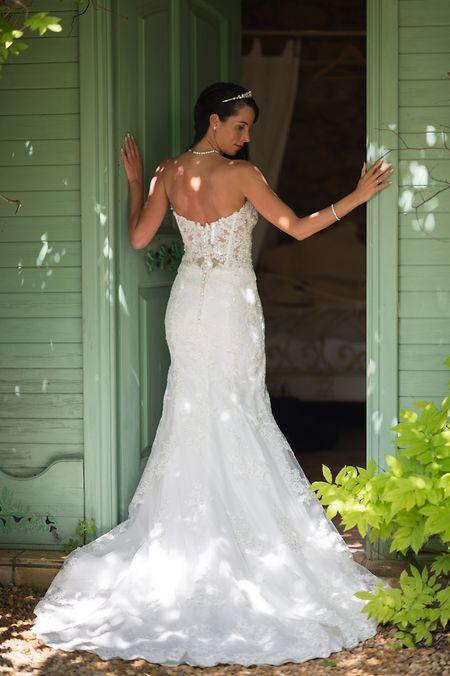 Drei Mal wechselte Nadja Burg das Brautkleid.