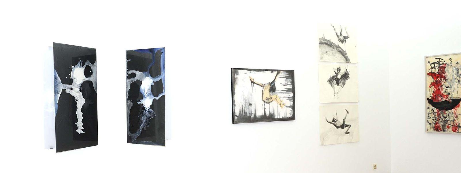 Kunstwerke unterschiedlichster Stilrichtungen sind zurzeit in der Galerie Nosbaum Reding ausgestellt.