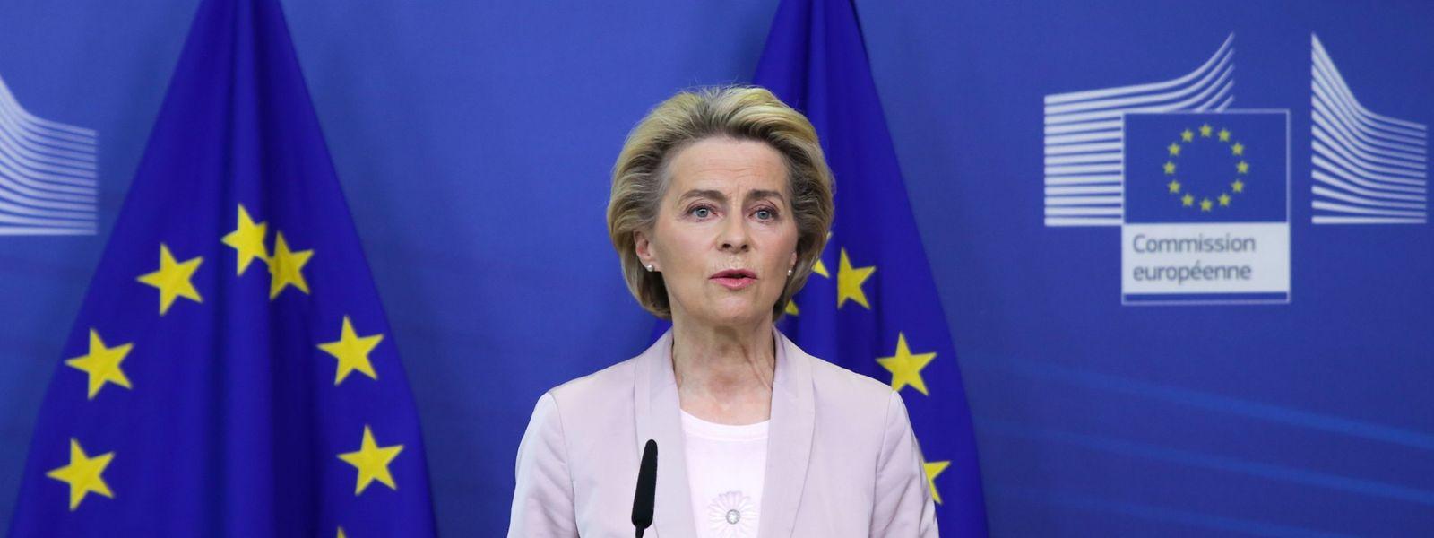 EU-Kommissionspräsidentin Ursula von der Leyen kündigte am Donnerstag in Brüssel an, dass die Europäische Union im Brexit-Streit rechtliche Schritte gegen Großbritannien wegen Verletzung des EU-Austrittsvertrags einleitet.