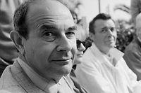 Stanley Donen im Jahr 1984 auf dem Internationalen Film Festival in Cannes.