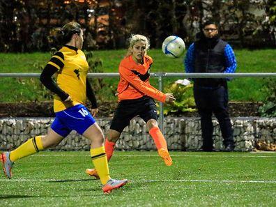 Roberta da Silva (ASW) gegen Melissa Goncalves (16)Foto: Serge Daleiden