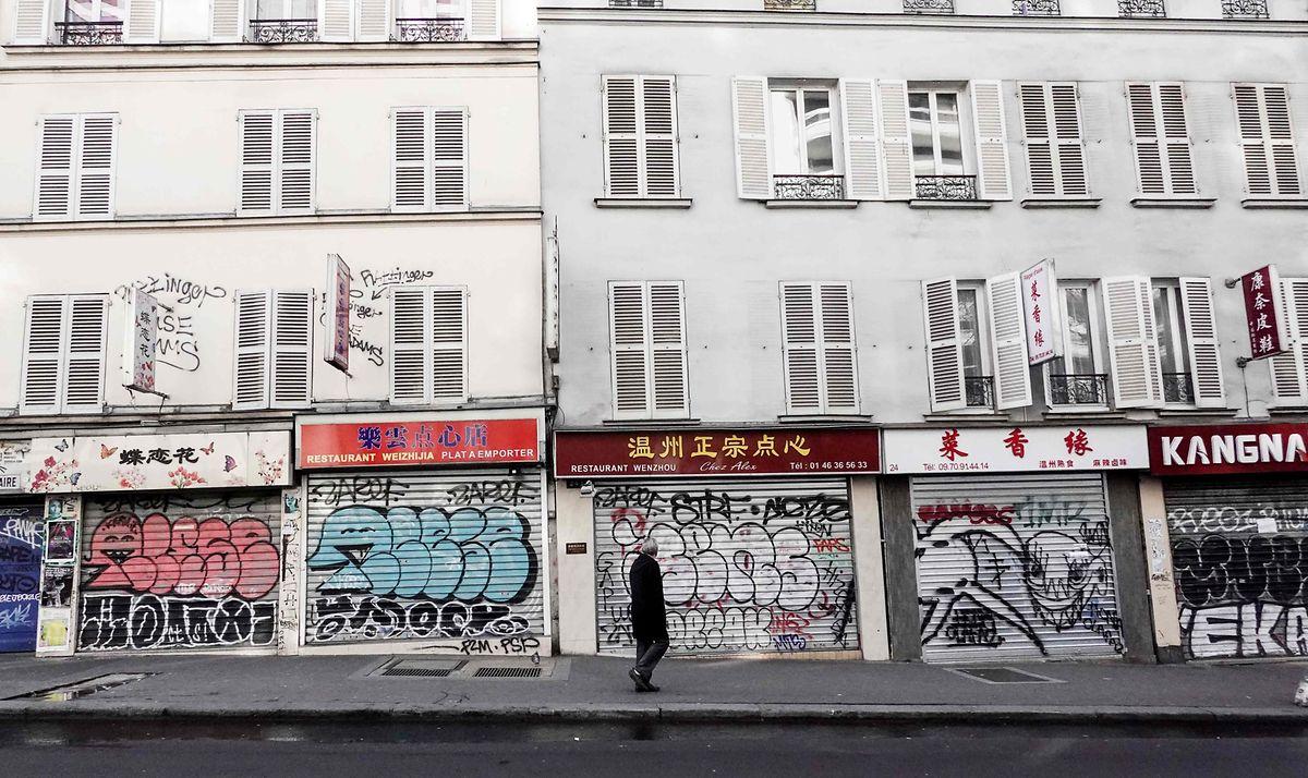Paris ist in diesen Tagen wie ausgestorben.