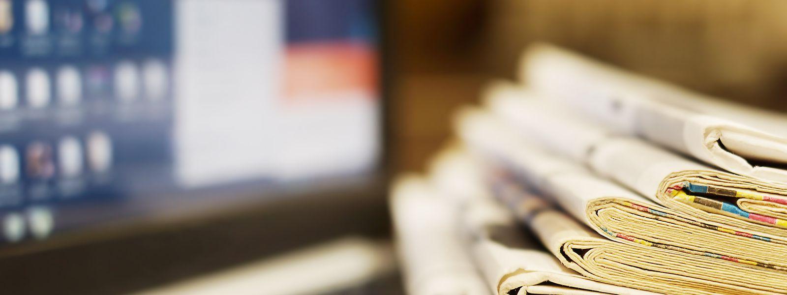 Die meisten Medienhäuser verdienen ihr Geld nach wie vor mit gedruckten Zeitungen. Mit der Umstellung auf digitale Geschäftsmodelle tun sich viele schwer.