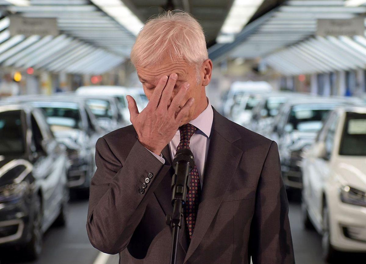Matthias Müller muss bei Volkswagen aufräumen.