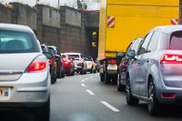 Sozialalmanach, Stau, Verkehr, Foto: Lex Kleren/Luxemburger Wort