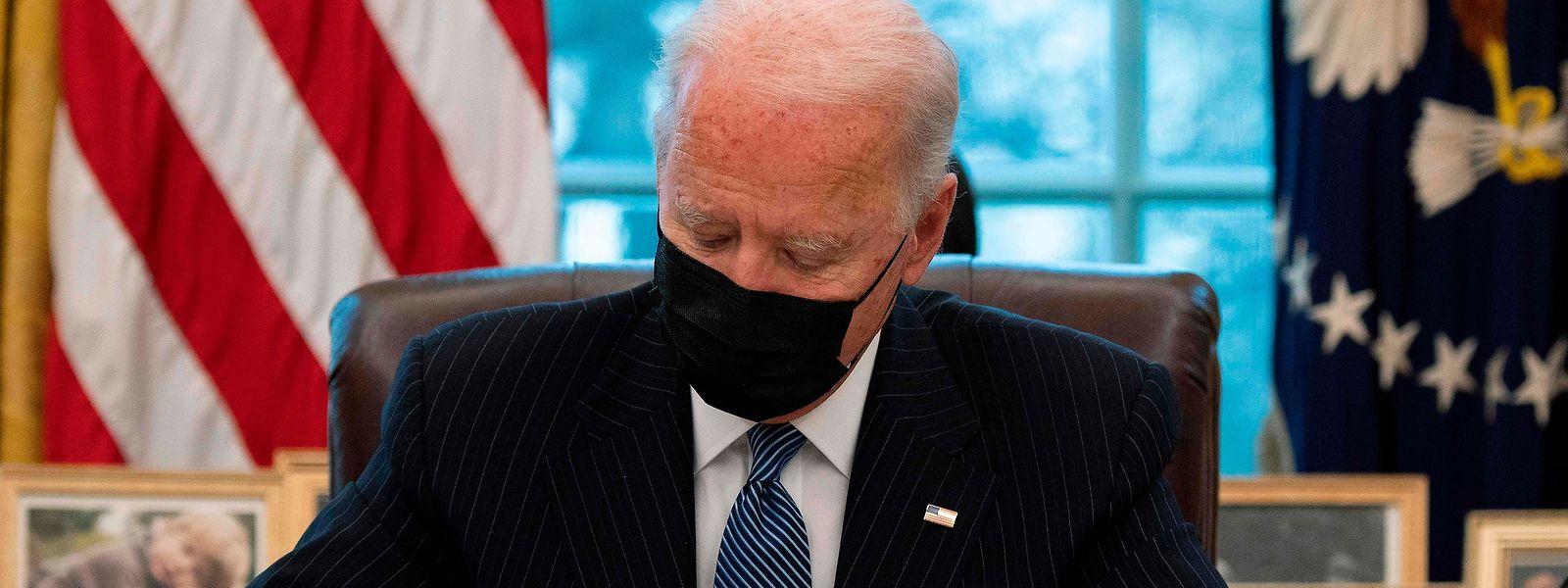 Unter US-Präsident Joe Biden ist wieder Normalität in die Abläufe des Weißen Hauses eingezogen.