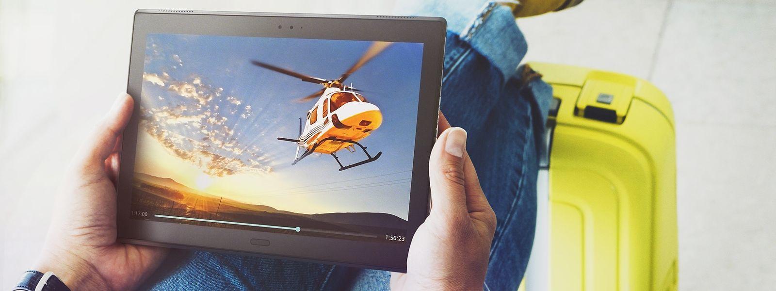 Tablets wie das Lenovo Tab 4 sind überall einsetzbar.