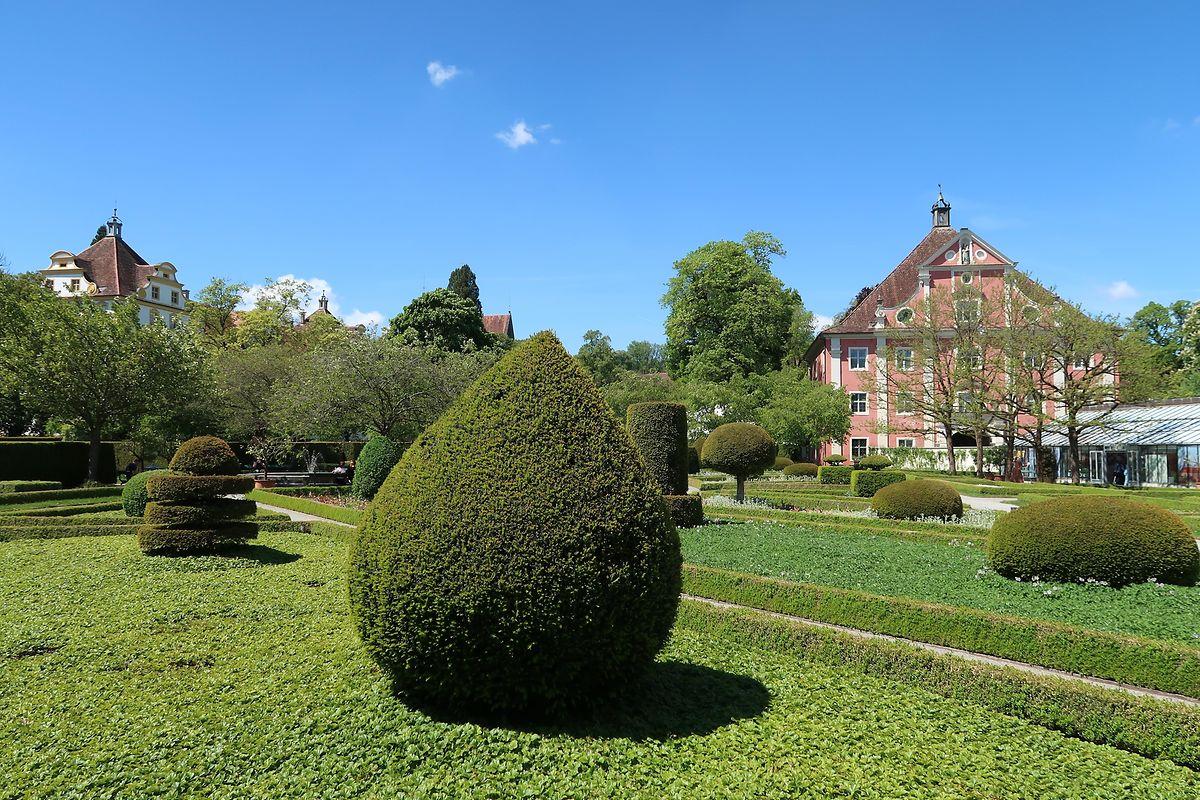 Garten von Schloss Salem