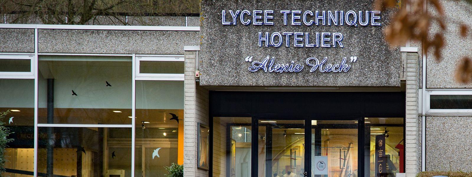 Das Hotelschulgebäude in der Diekircher Rue Merten soll auch einer Instandsetzung unterzogen werden.