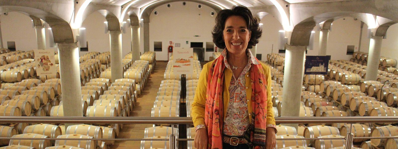 """José Rallo leitet als Managerin von """"Donnafugata"""" eines der größten und bekanntesten Weingüter Siziliens. Erfolgreich ist sie auch als Jazz-Musikerin."""
