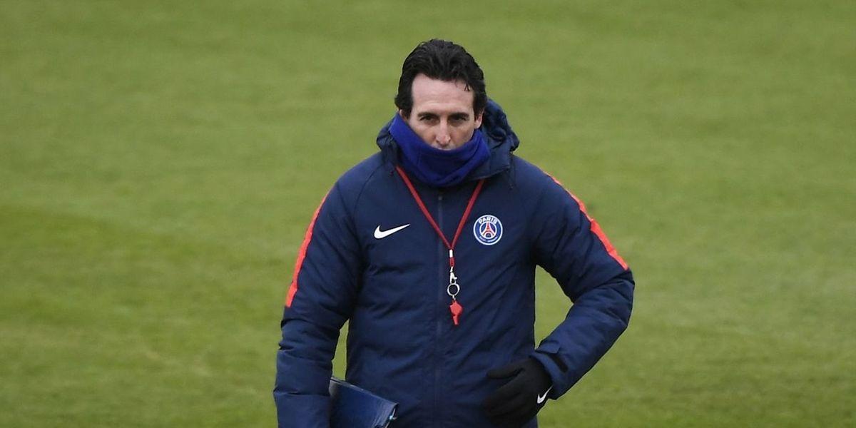 Transi de froid, gageons que le coach du PSG, Unai Emery se réchauffera bien vite ce mercredi soir au stade Santiago Bernabeu