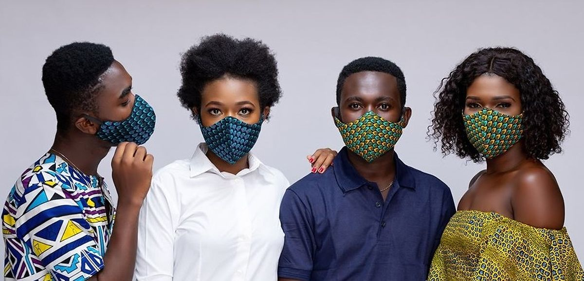 If you want to cut down on waste, reusable cloth masks are more environmentally friendly Photo: VondeeWorld