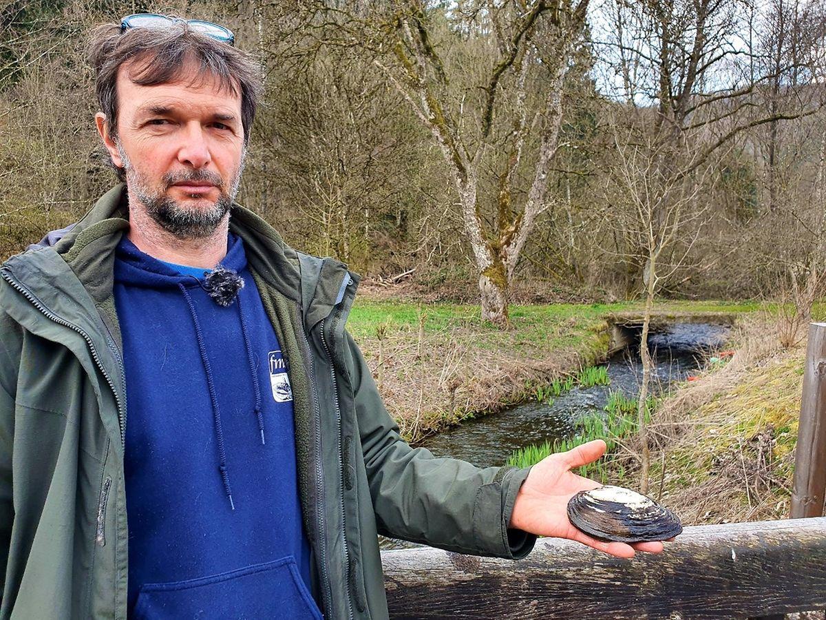 Frankie Thielen, biólogo da fundação Natur&Ëmwelt.