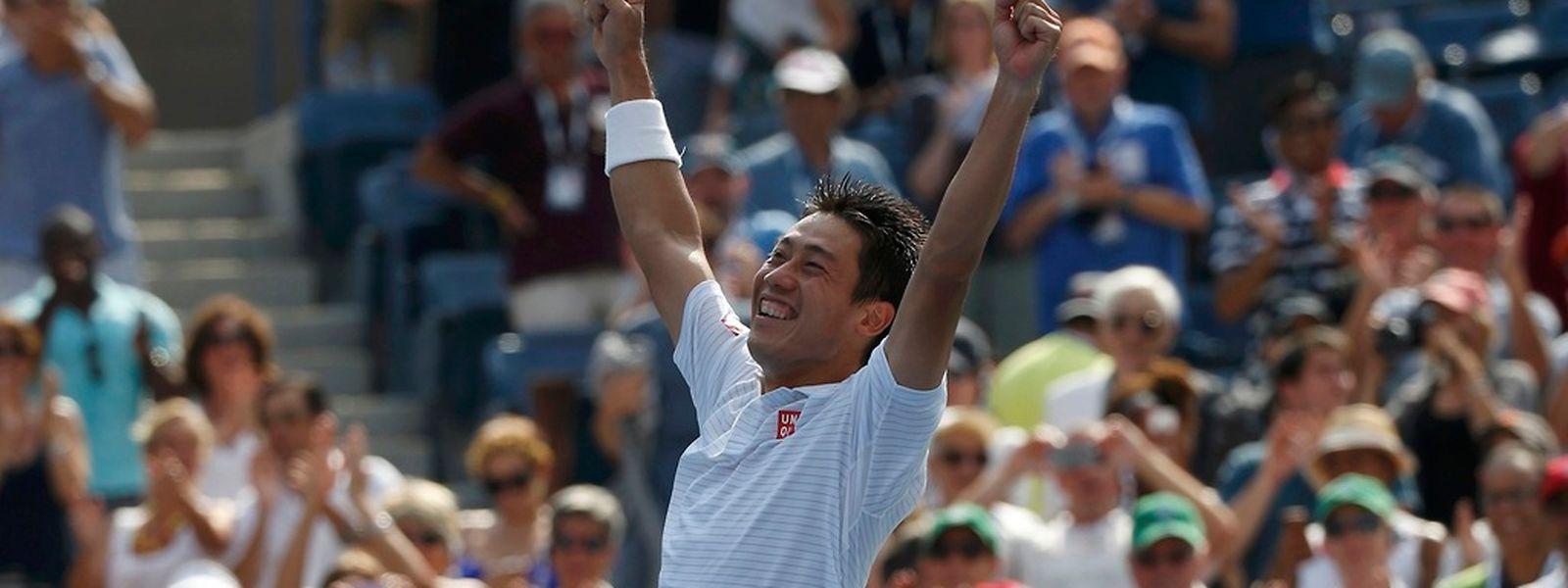 Peu de monde misait sur Kei Nishikori avant l'US Open. Le Japonais va pourtant disputer la finale lundi soir.