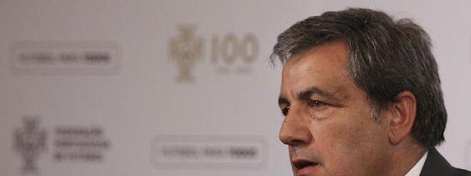 Fernando Gomes, presidente da Federação Portuguesa de Futebol.