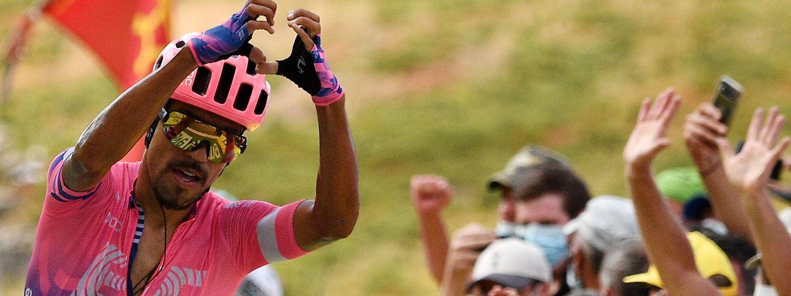 Le Colombien Daniel Martinez  (Education First) s'est imposé en solitaire ce vendredi lors de la 13e étape du Tour