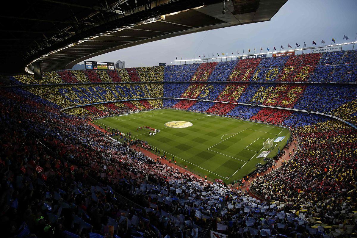 Der Clasico zwischen dem FC Barcelona und Real Madrid kann nicht im Stadion Camp Nou stattfinden.