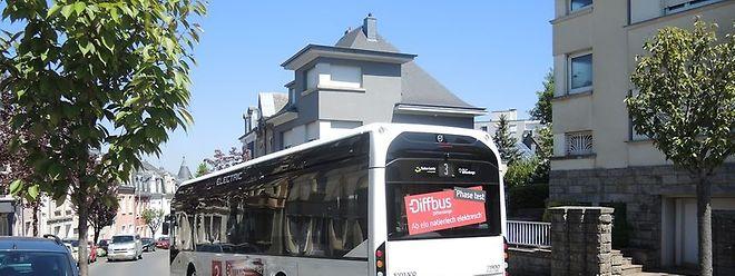Les bus électriques sont déjà testés dans les rues de Differdange. Les premiers tests ont été concluants.