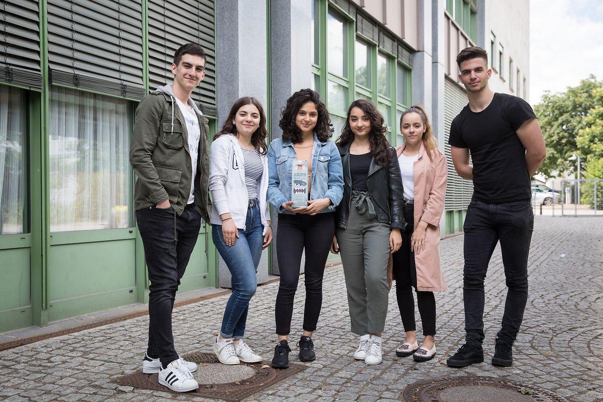 """Das """"Brips""""-Team besteht aus: Patrick Azevedo, Aurélie Ferreira, Zilane Yurtman, Tatiana Fontes, Melissa Ribeiro und Ilan Fraccalvieri (Foto: v.l.n.r)."""