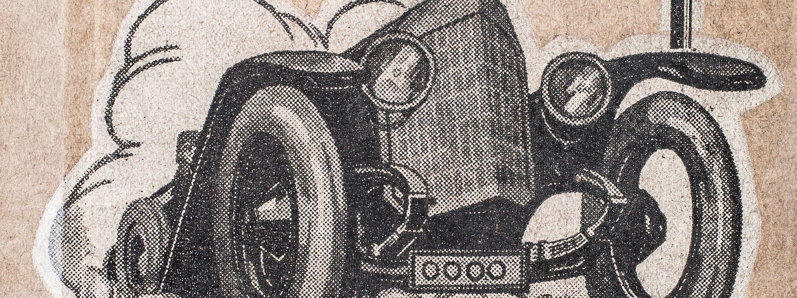 """So interpretierten die Autoren des """"Katechismus des öffentlichen Straßenverkehrs"""" 1932 die Vormachtstellung des Automobils."""